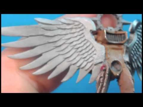 How to Paint: NMM Sanguinor: Shading the Wings - YouTube