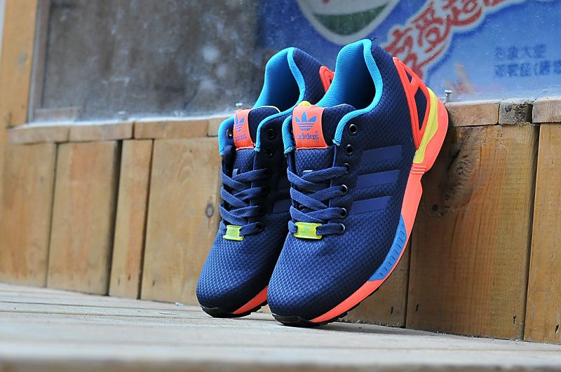 release date adidas zx flux yellow orange b4417 7e616