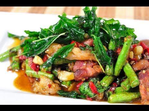 Thai food ka prao kha mu pa lo stewed pork knuckle stir fried with thai food ka prao kha mu pa lo stewed pork knuckle stir forumfinder Choice Image