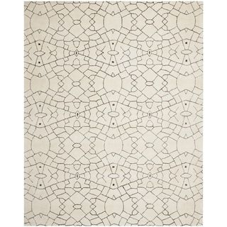 Thom Filicia Handmade Cream/ Brown New Zealand Wool Rug (5u0027 X 8u0027) By  Safavieh