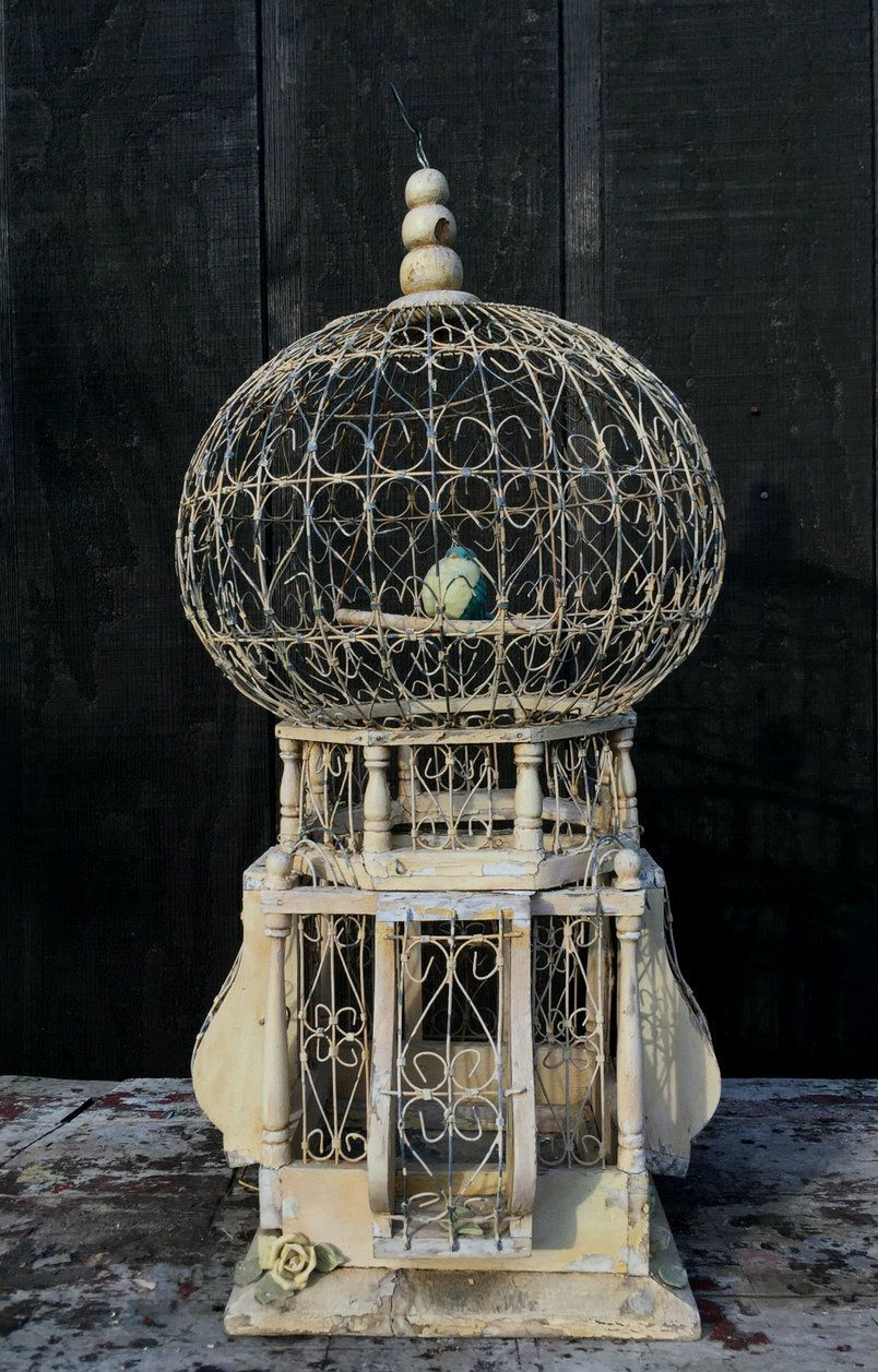 Victorian Domed Birdcage *SOLD*