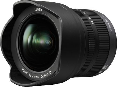 Panasonic - Lumix 7-14mm f/4.0 G Vario Wide-Angle Zoom Lens For Micro Four Thirds, H-F007014