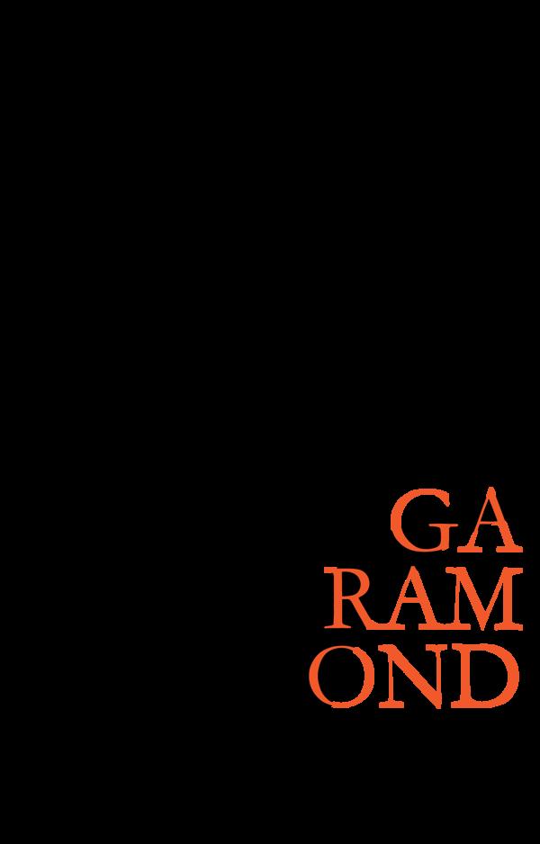 A History of Garamond by Erin Sauder, via Behance