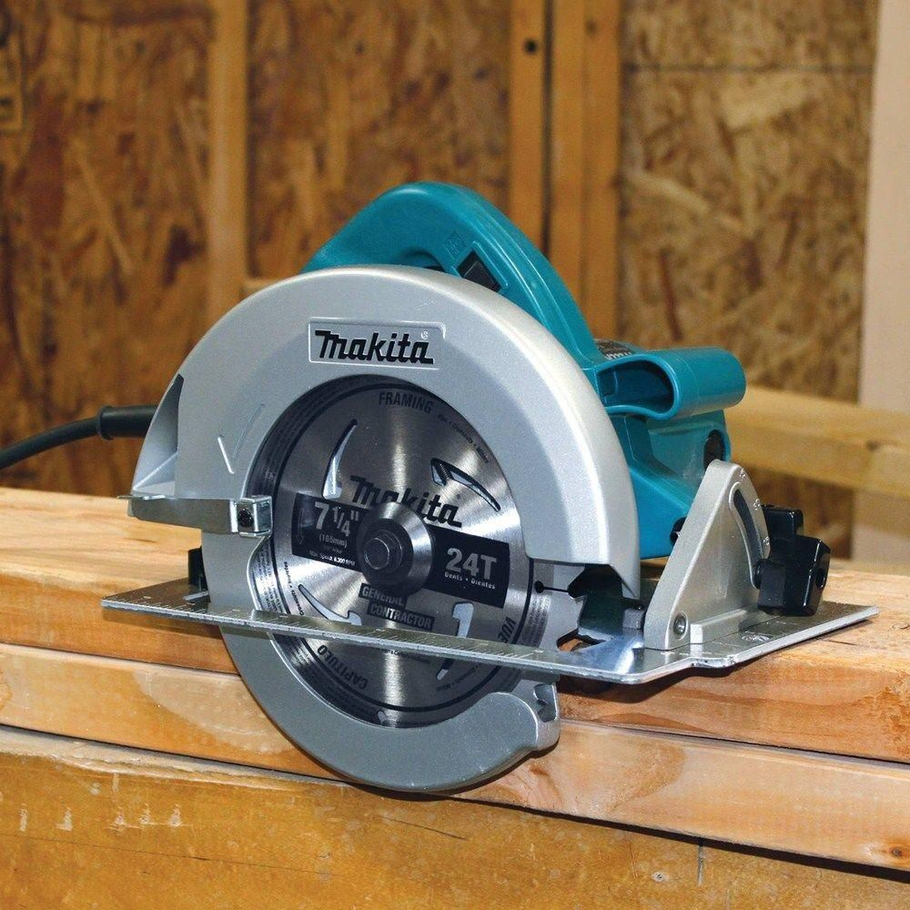 Makita 7 1 4 In 15 Amp Corded Circular Saw With Dust Port 2