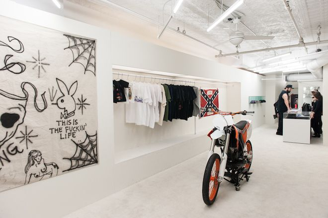 A Look Inside Kanye West S New York City Yeezus Pop Up Shop Pop Up Shop Pop Up Store Store Fronts