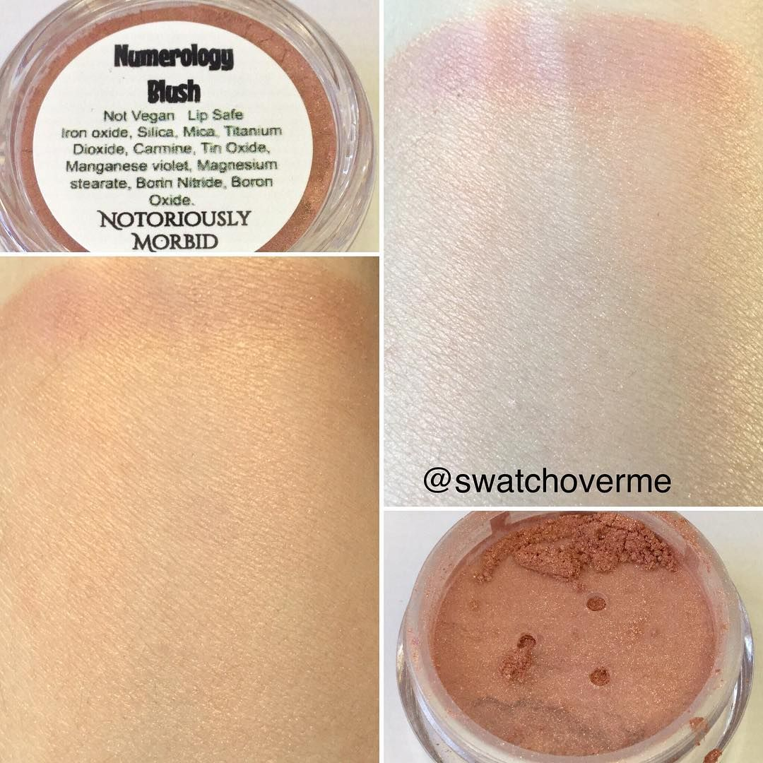 swatchoverme on Instagram Notoriously Morbid Blush in