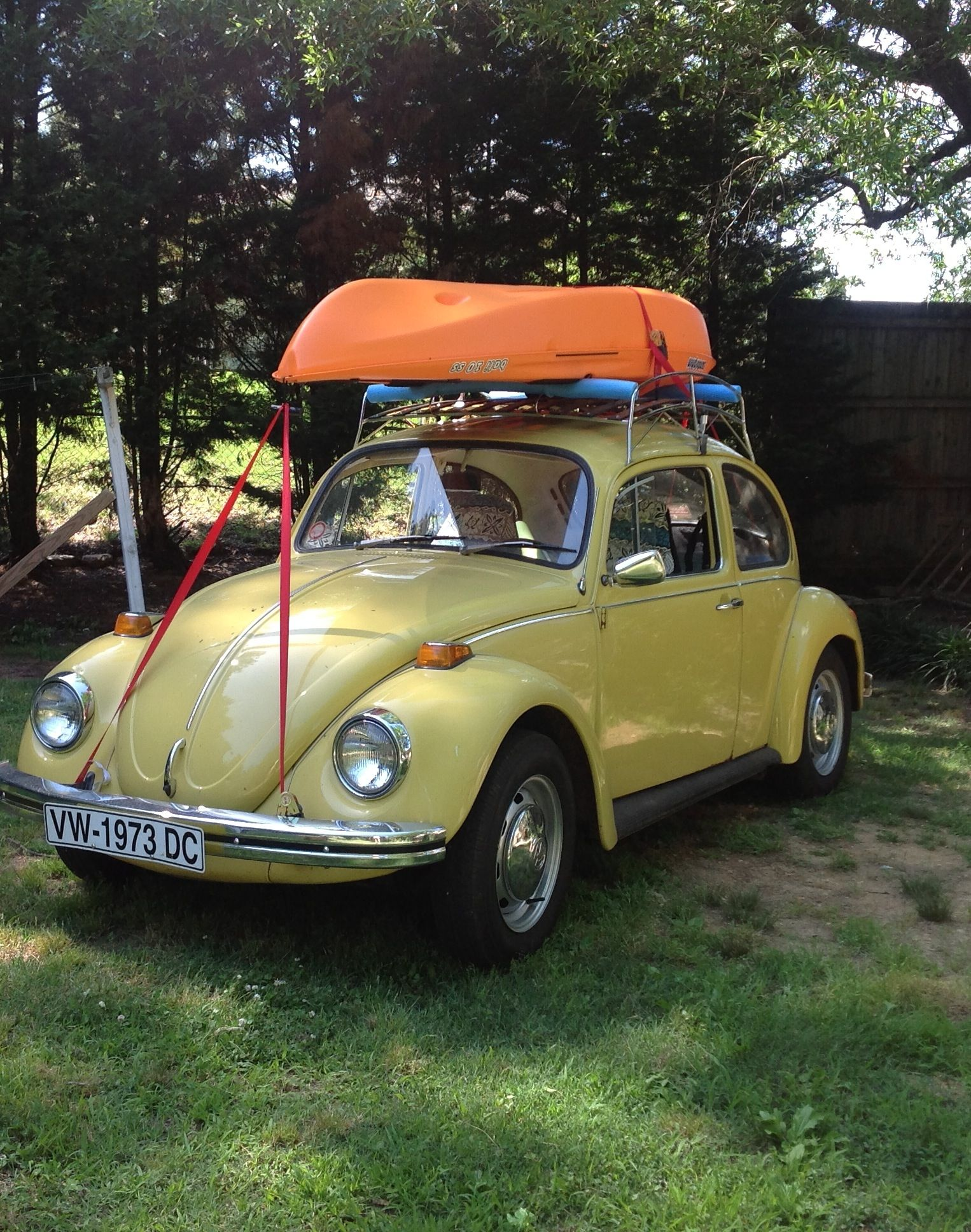 Vw Kayak Kayak Fishing Kayaking Volkswagen