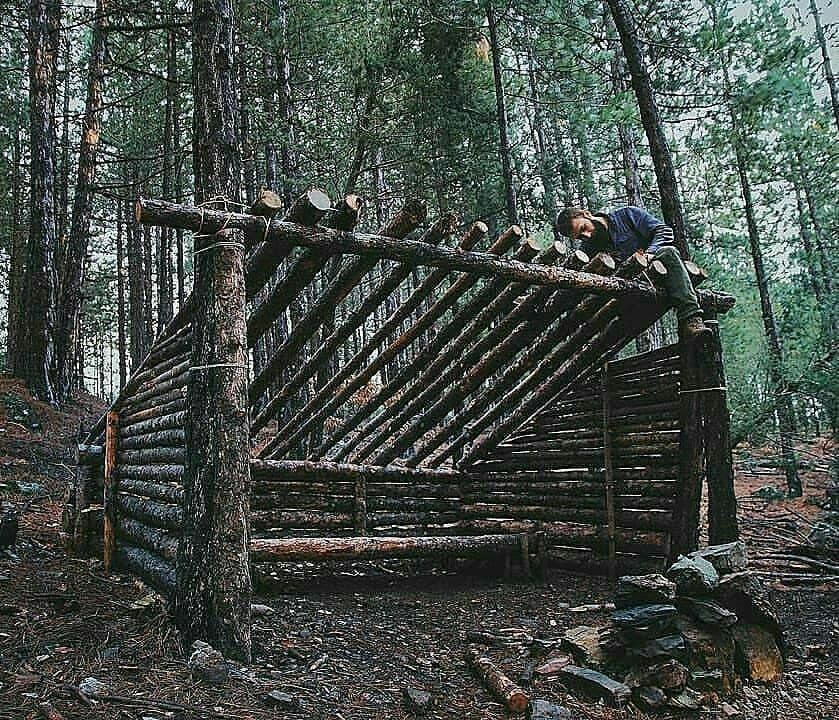Epingle Sur Bushcraft Camping