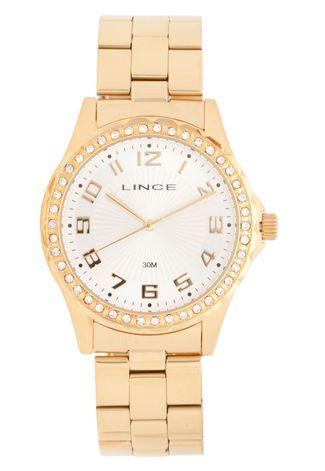 c76189bb238 Relógio Lince LRGJ031LS2KX Dourado - Compre Agora