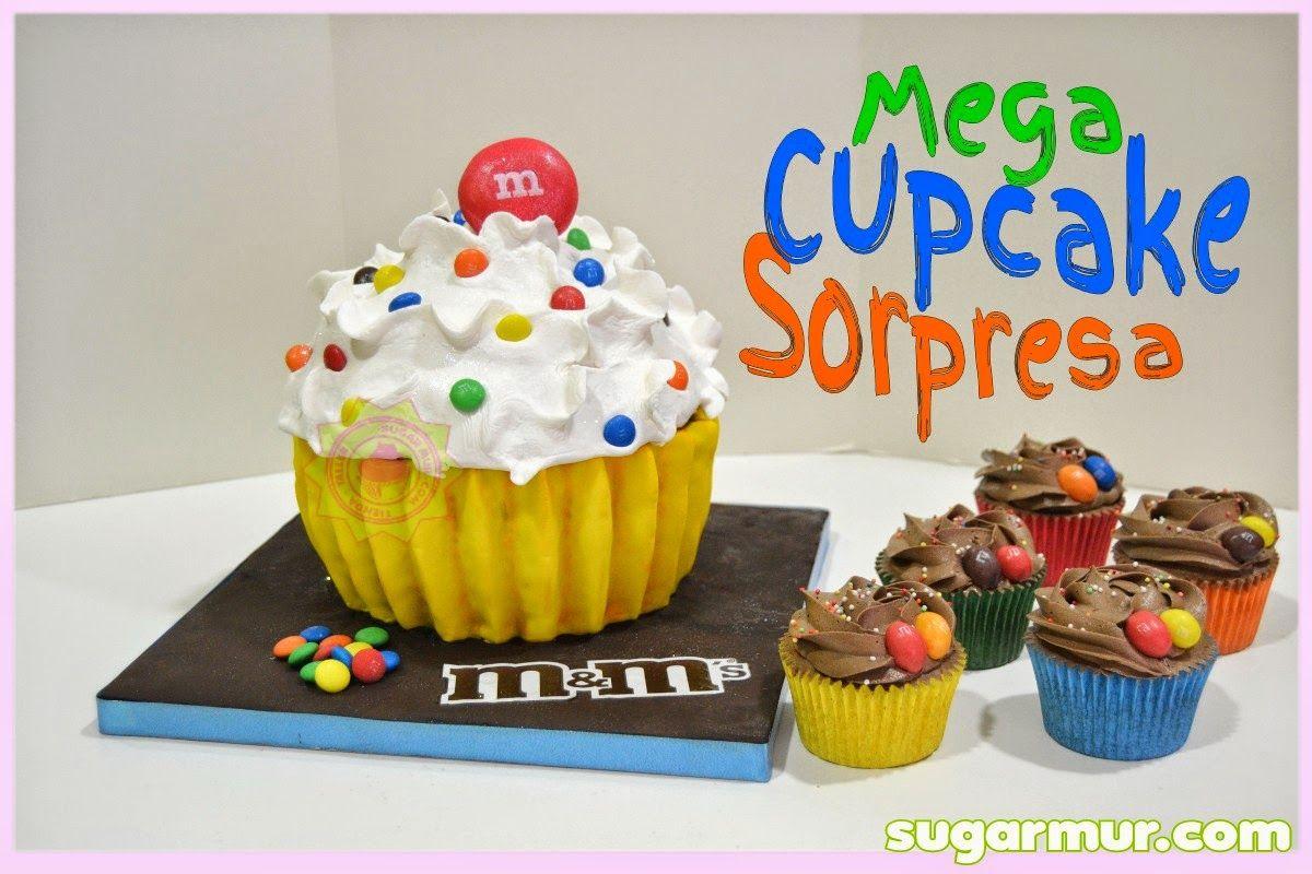 mega cupcake sorpresa