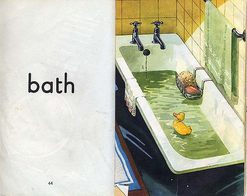 bathing.quenalbertini: Page spread from 'A Ladybird First Picture Book', Harry Woolley and Roy Smith illustr. | by