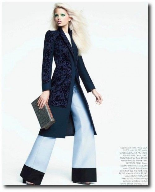 064a2c3b696b Harper's Bazaar US October 2012 Editorial - Daphne Groeneveld, Keywords: Plus  Size Clothing, Plus Size Dresses, Plus Size Christmas, Plus Size New Years,  ...