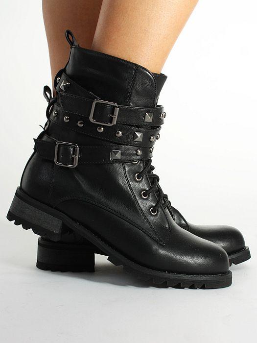 Boots - Leather - Kängor   Boots - Skor - Dam - Modekungen - Mode online  c628d0303abb4