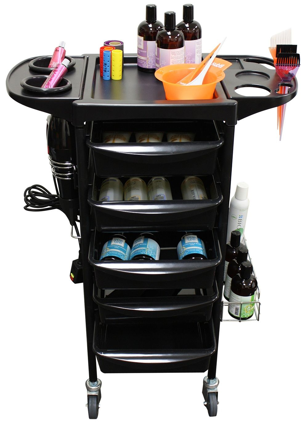 Mobile Storage Cabinets And Trolleys For Your Hair, Nail Salon, Spa, Or  Beauty