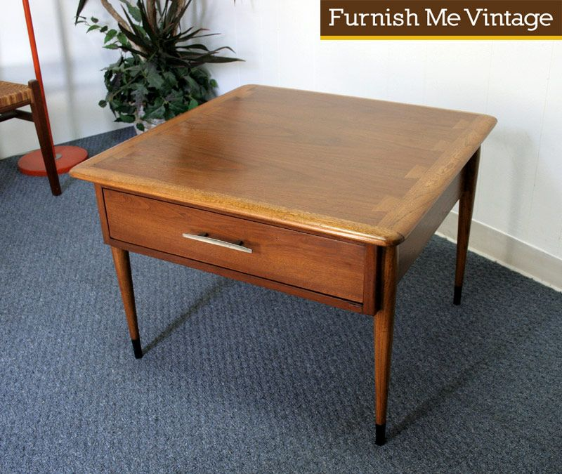 Mid Century Lane Copenhagen Drop Leaf Coffee Table: Vintage Lane Acclaim Side Table Or Nightstand
