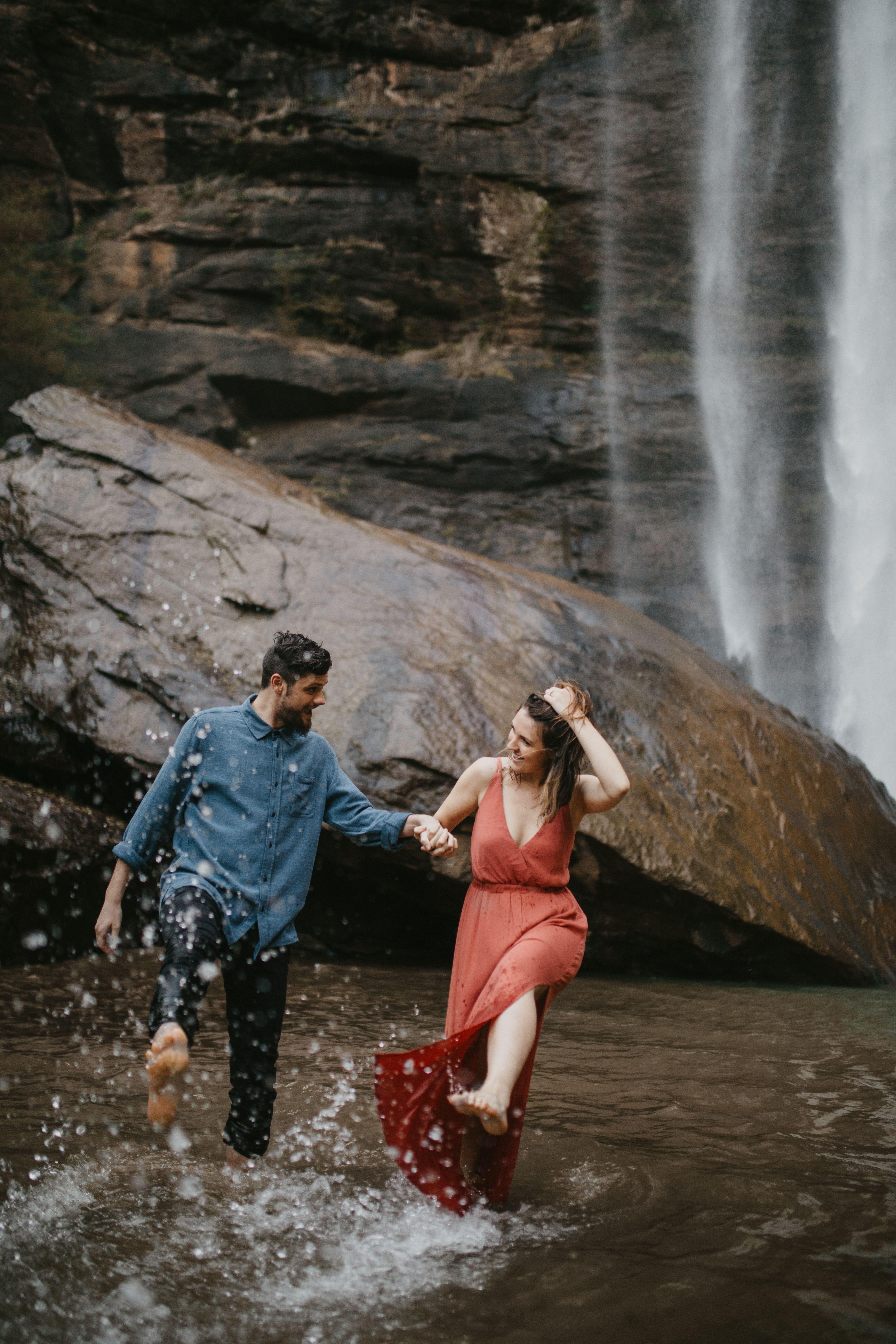 Toccoa Falls Surprise Proposal North