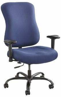 biz chair com computer desk with optimus 400lb capacity blue 3590bu by safco bizchair