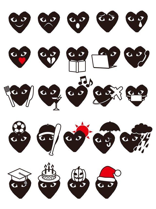 d603eb64213b Comme des Garçons has created its own emojis