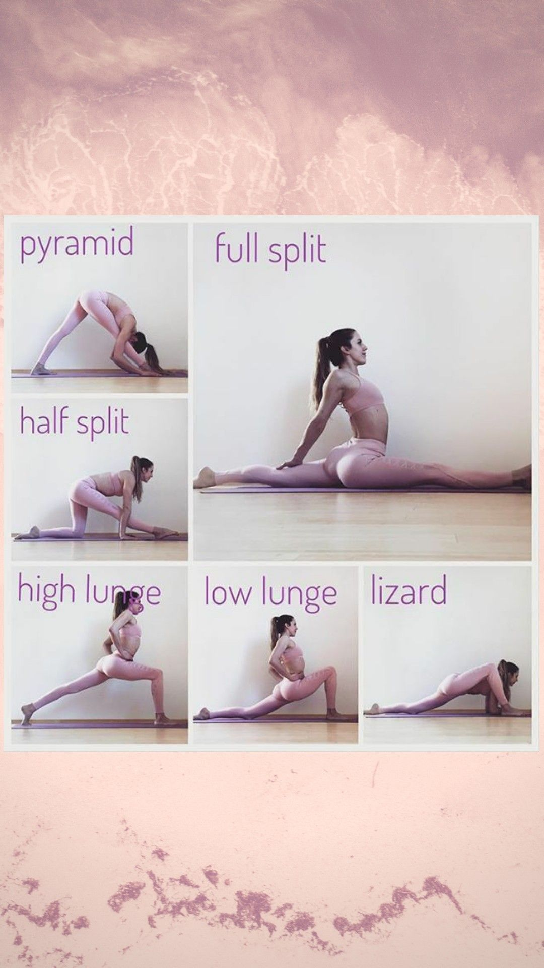 Full split , try this first ! #balletfitness