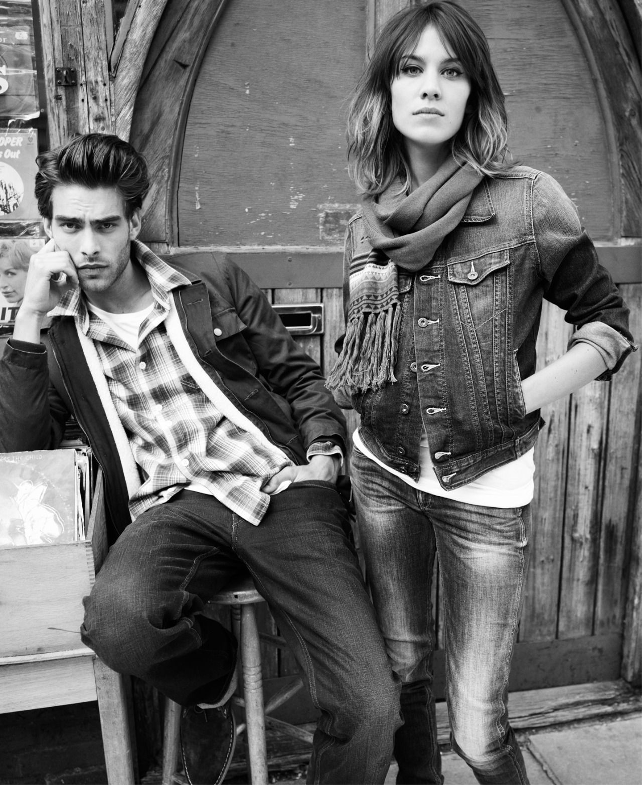 Alexa Chung for Pepe Jeans | Autumn Winter 2010/2011