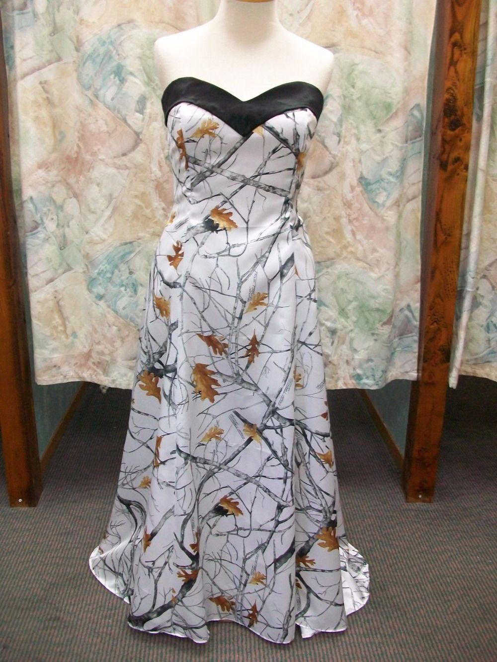Wedding dresses camo  Click to Buy ucuc free shipping  new style strapless sweetheart