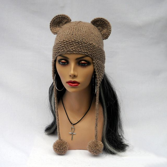 Handmade Knitting Animal Headband wool