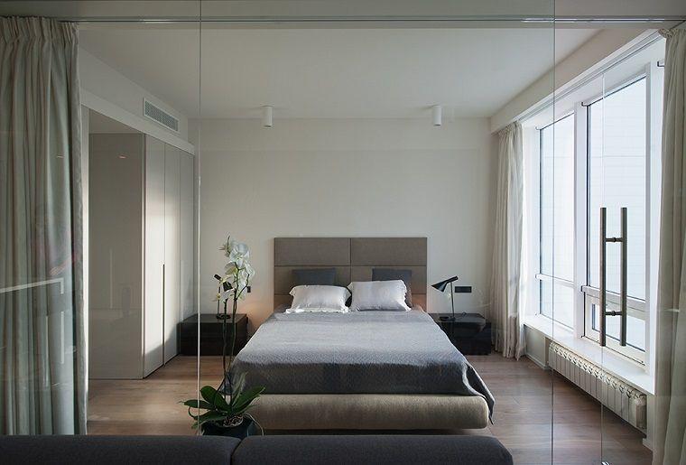 camera da letto arredata stile contemporaneo | INTERIOR DESIGN ...
