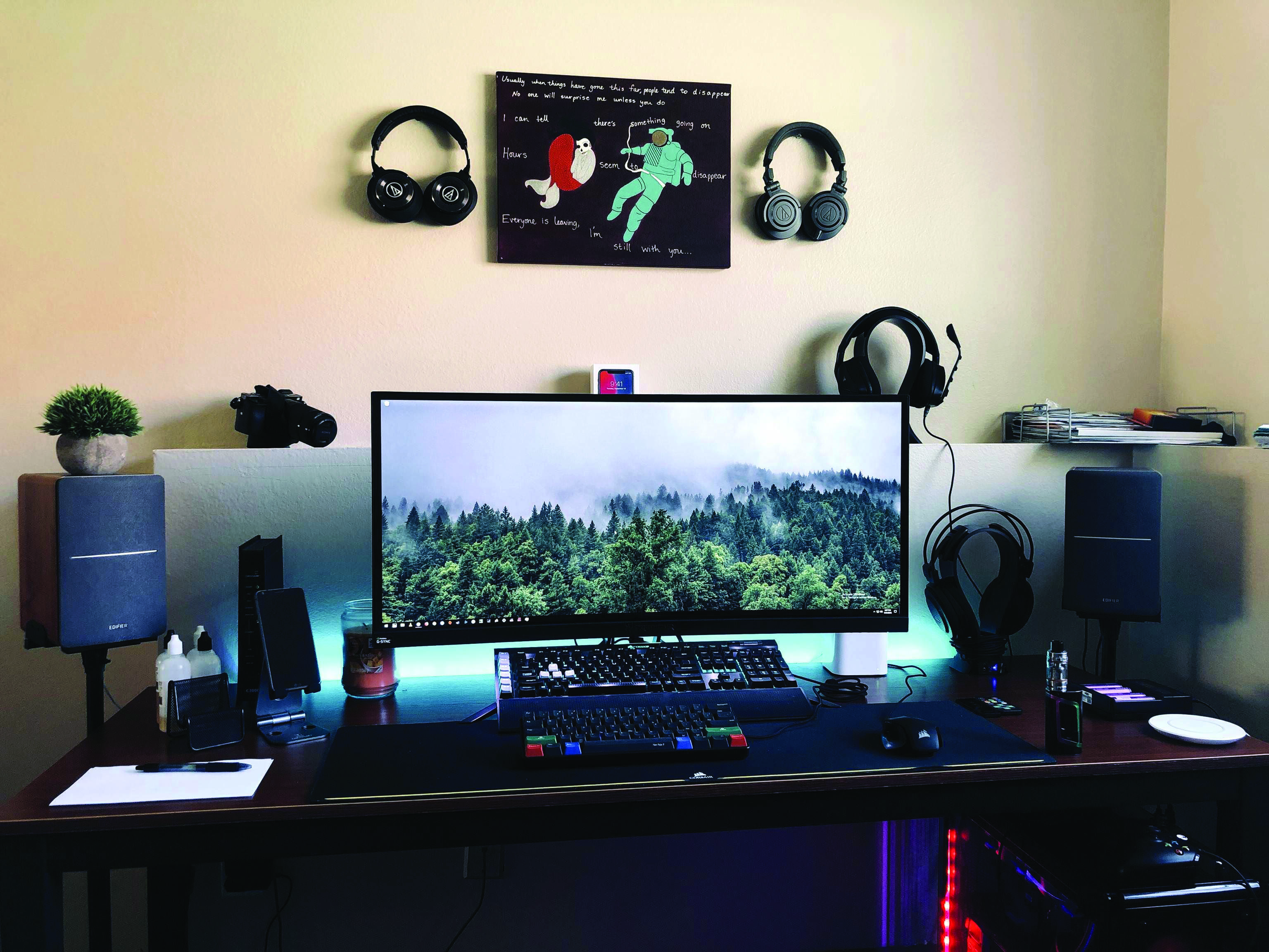 Gaming Computer Desk Dova Home Gaming Computer Desk Gaming Room Setup Room Setup