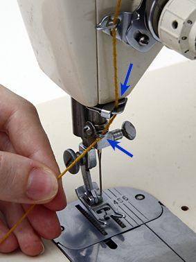 ᐈ como ensartar el hilo en una maquina de coser singer