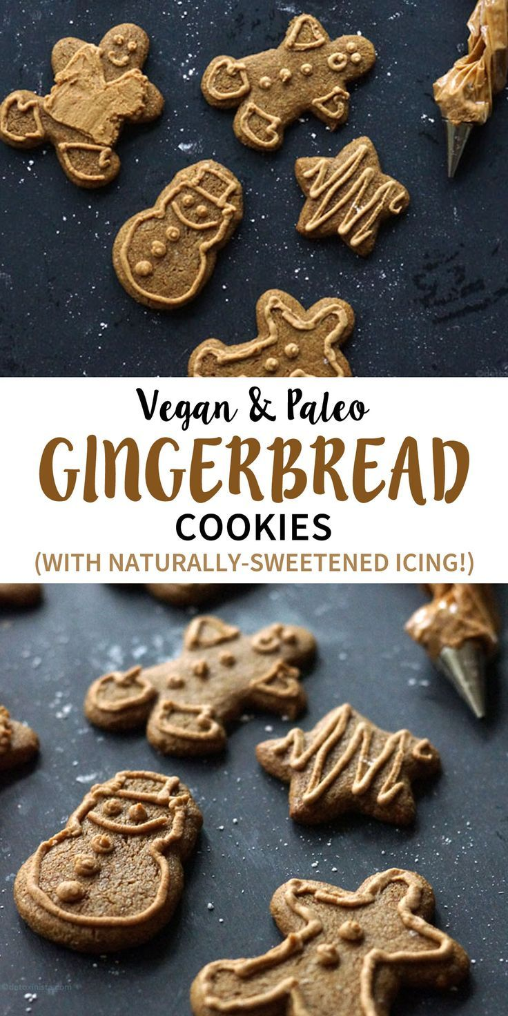 Healthy Gingerbread Cookies (Vegan & Paleo!) | Detoxinista