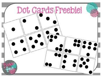 Dot Cards Counting Number Sense Place Value Math Talk