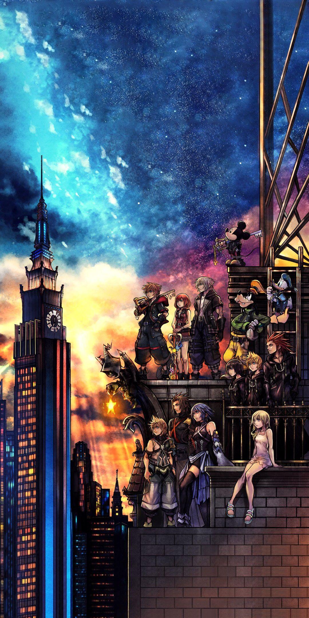 Beautiful Kingdom Hearts 3 Phone Wallpaper Kingdom