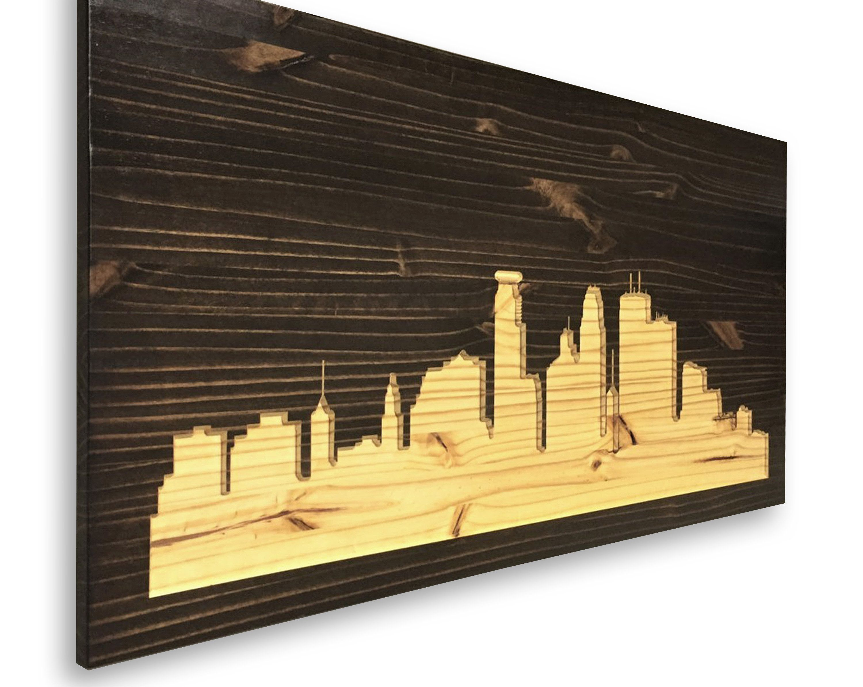 Fine City Skyline Wall Art Ornament - Wall Art Collections ...