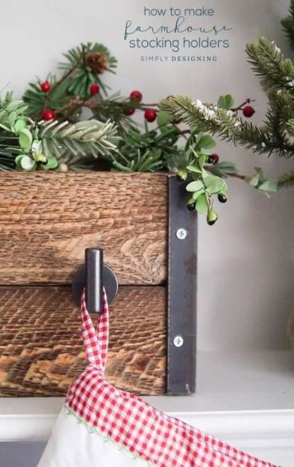 Super farmhouse christmas stockings mantles ideas # ...
