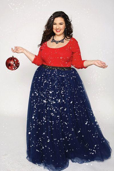 8eacbb40455 Plus Size Long Tutu - Navy (Sizes 1X - 6X) - Society Plus - Plus Size  Fashion for Women