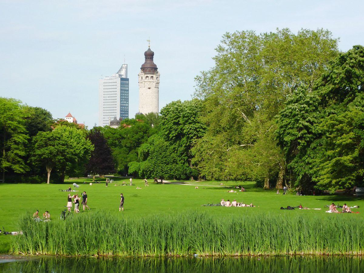 Leipzig City Clara Park