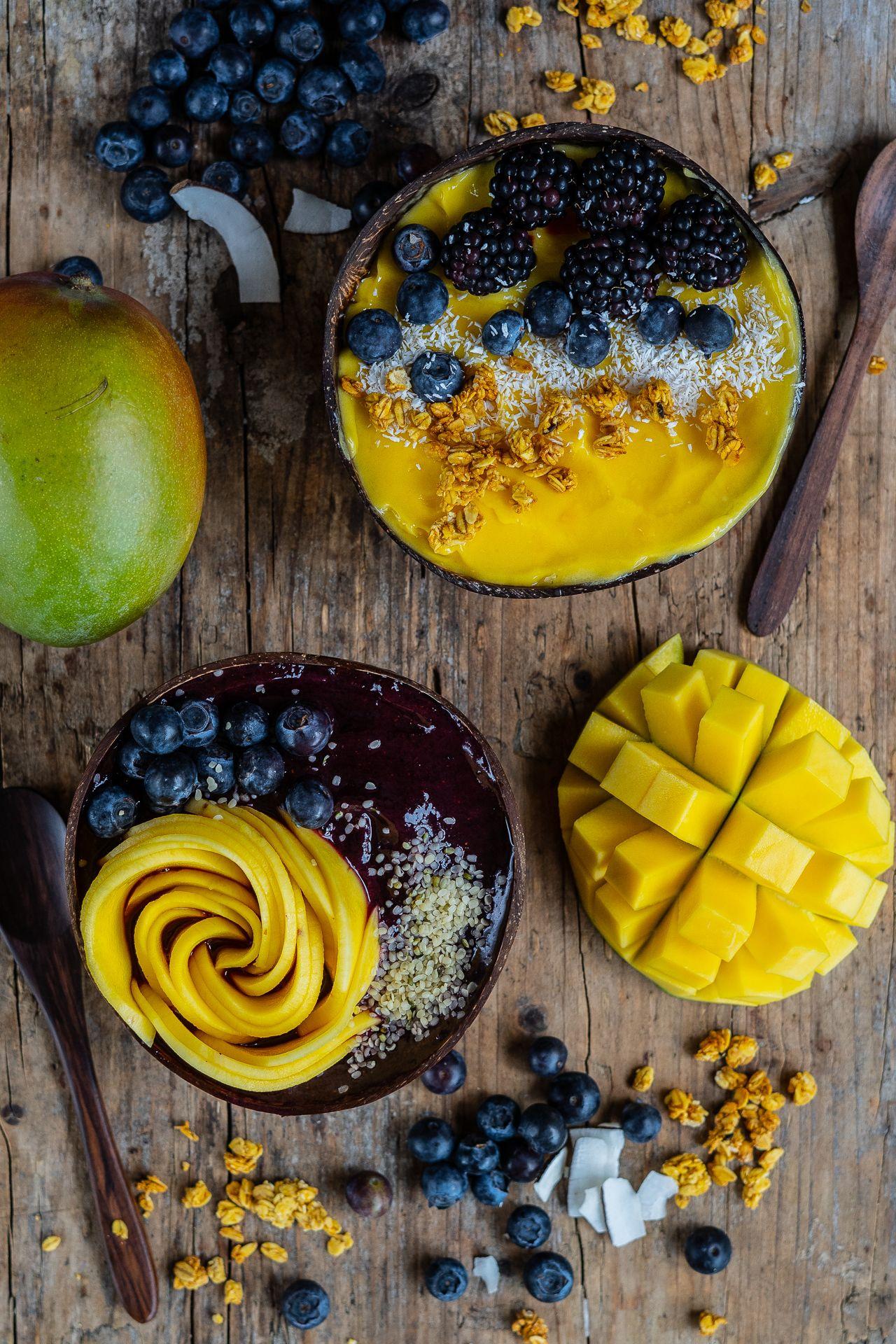 Gesunde 2 Zutaten Nicecream - ohne Banane, vegan - Mrs Flury