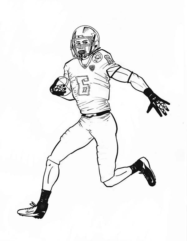 NFL Scoring Touch Down Coloring Page : Color Luna di 2020 ...