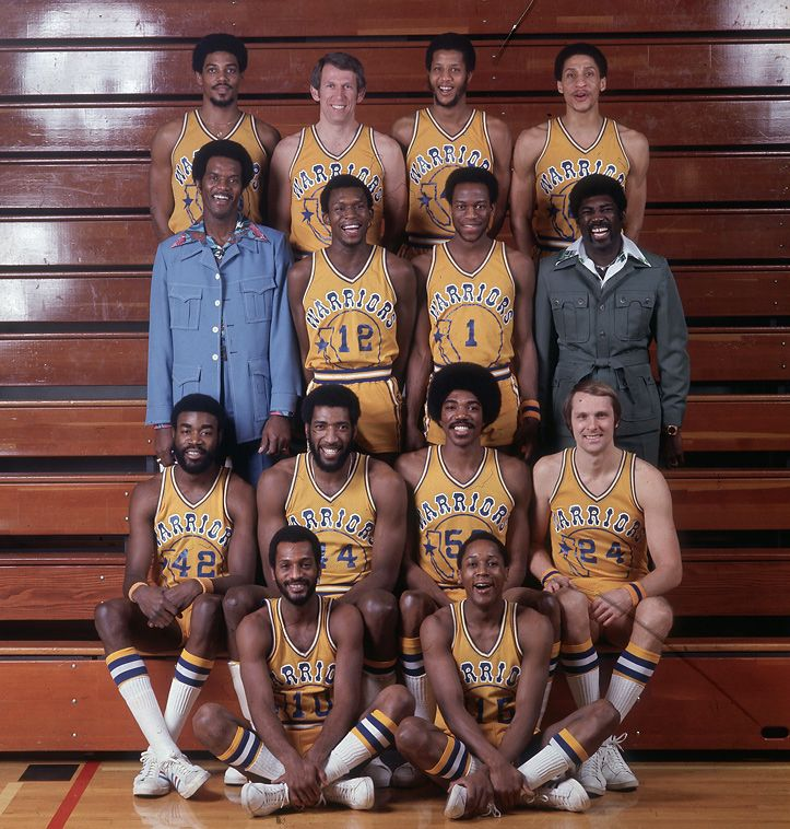 '70s collars and the Warriors.