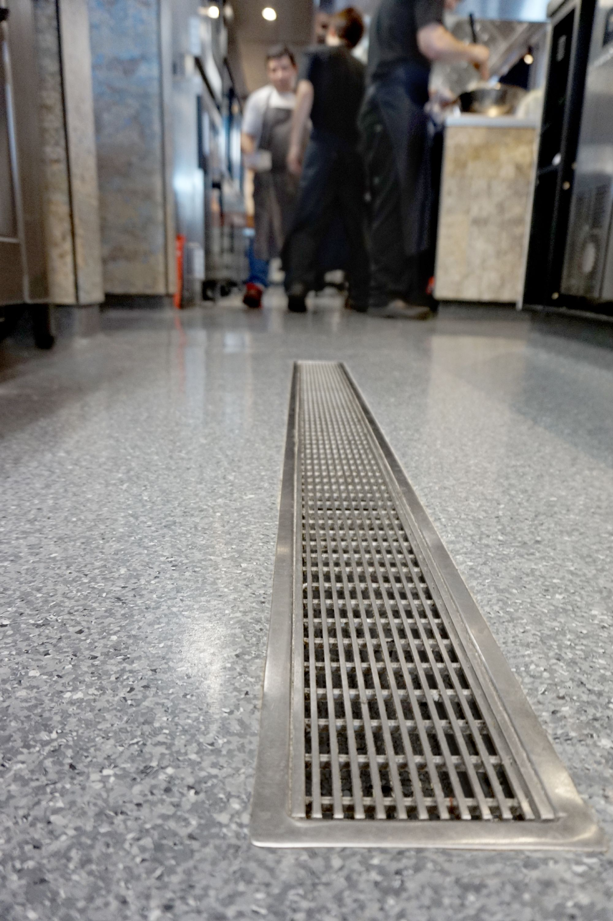 Allproof VCC channel for commercial kitchen drainage