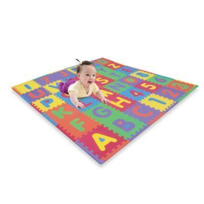 Verdes Foam Abc Numbers Playmat Baby Activity Mat Playmat