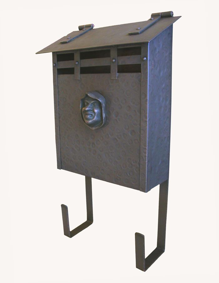 Copper Craftsman Mailbo