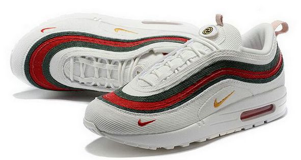 Gucci X Sean Wotherspoon X Nike Air Max 97 1 97 Vf Sw Hybrid White ... 08df4195b