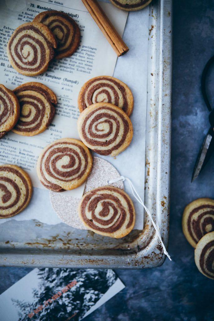Zimtschnecken Weihnachtsplätzchen #cinnamonsugarcookies