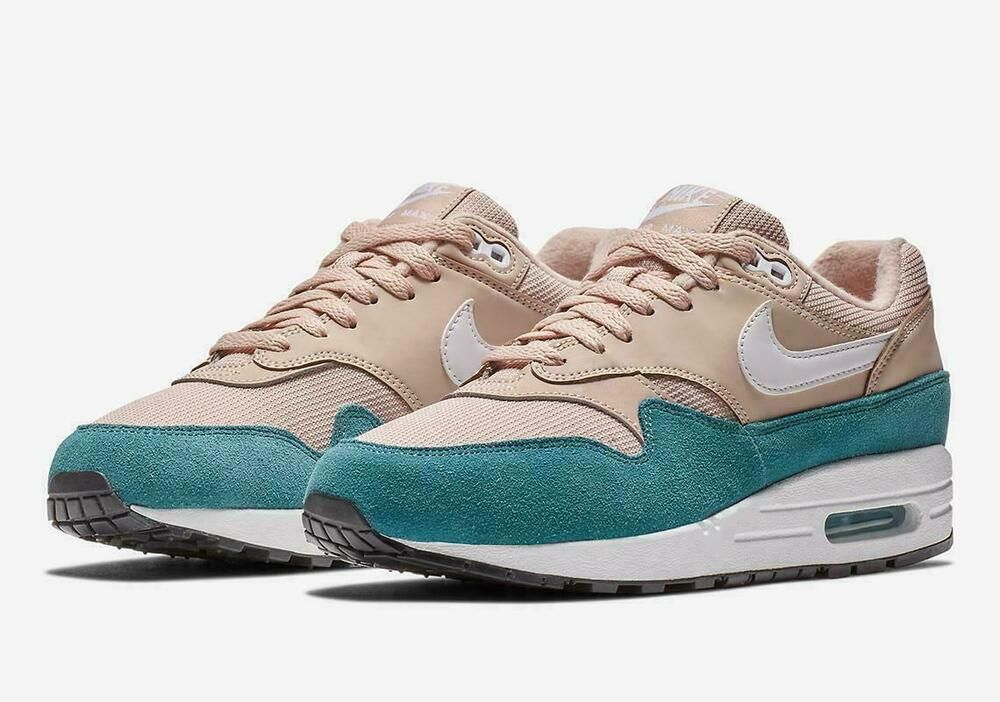purchase cheap ddb89 fd594 Nike Air Max 1 Women s Running Training Shoes Celestial Teal 319986 405 -  Nike Airs (This is a link to Amazon and as an Amazon Associate I earn from  ...