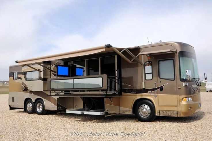 Your Own Little Above Ground Patio Motorhome Luxury Rv Motor