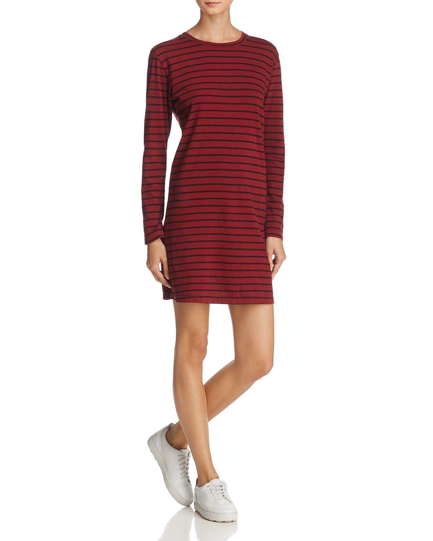 Current Elliott Bea Stripe Tee Dress Women Bloomingdale S Striped Tee Dress Tee Dress Red Tee Shirt Dress [ 1500 x 1200 Pixel ]