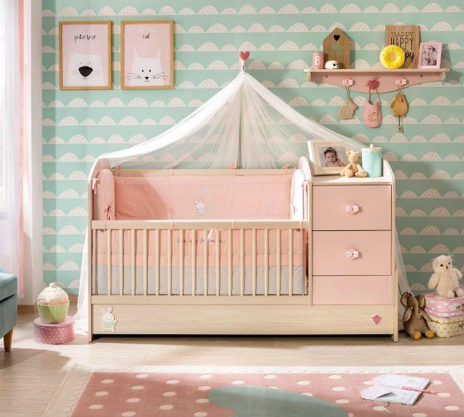 Baby Girl muebles para habitación de bebé niña via @decoideasblog ...
