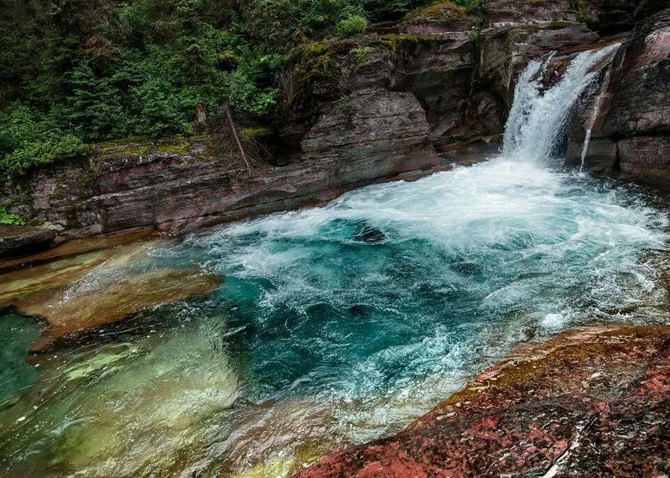 Gunsight Trail,Glacier National Park