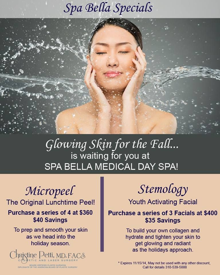 Glowing Skin For The Fall Is Waiting For You At Spabella Micropeel Stemology Glowing Skin Spa Day Cosmetic Surgery